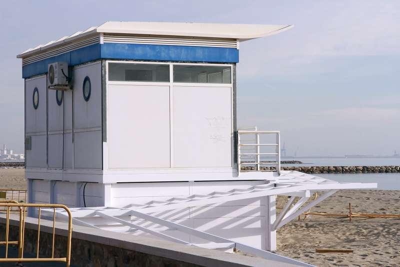Posta sanitaria de la playa de Puçol. EPDA