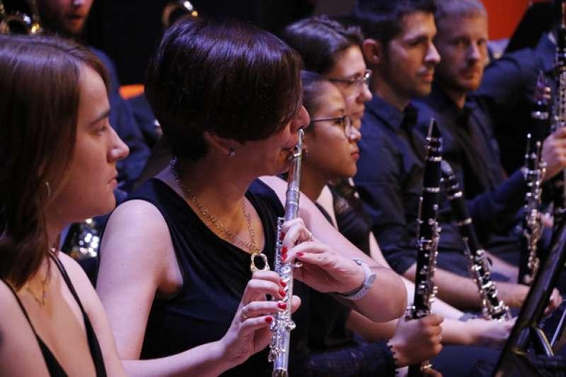 Músicos del Centro Musical Santa Cecilia de Puçol. EPDA