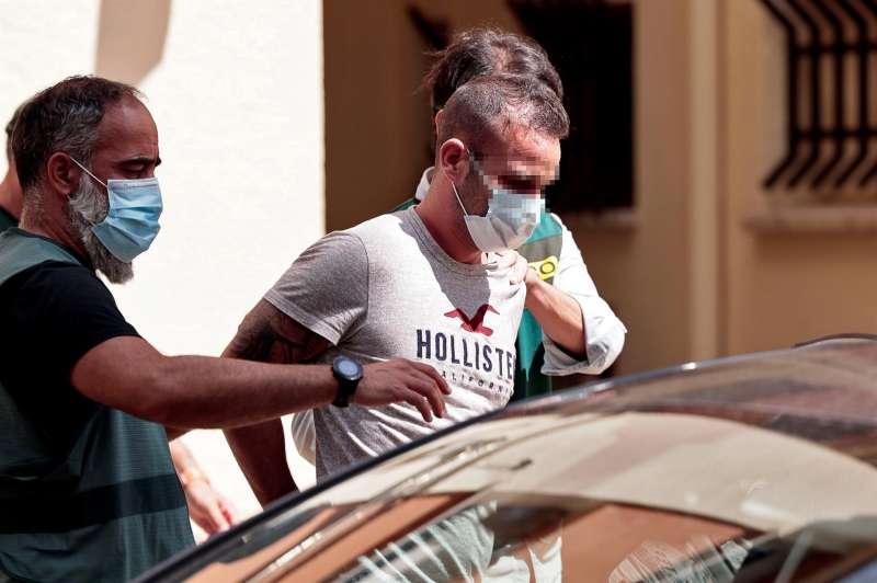David S.O., sospechoso del asesinato de la joven