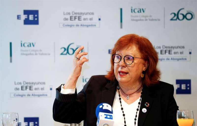 La delegada del Gobierno en la Comunitat Valenciana, Gloria Calero. EPDA
