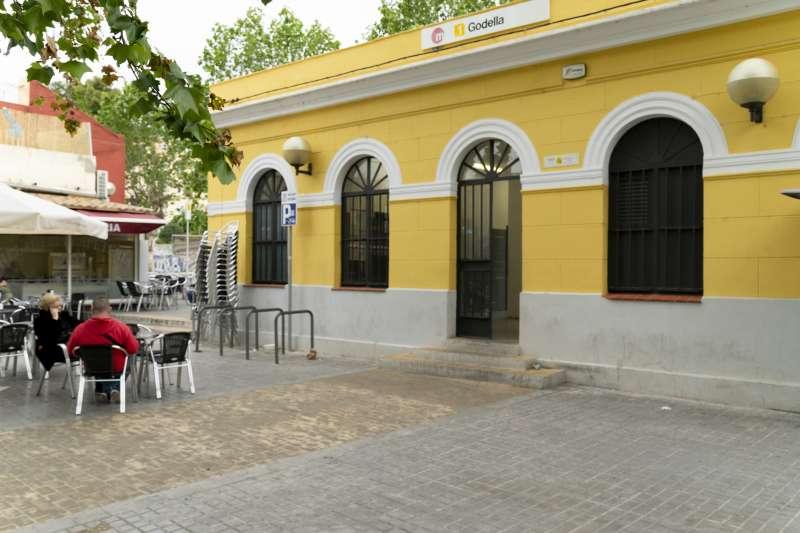 Una de les terrasses de Godella. EPDA