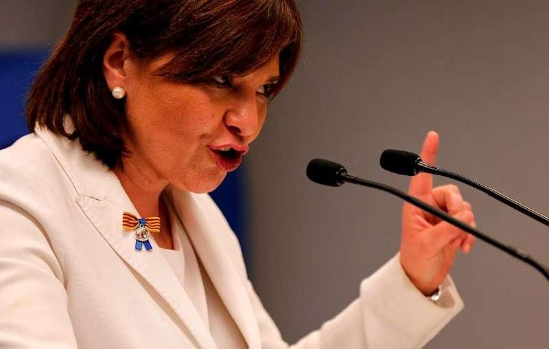 La presidenta del PPCV, Isabel Bonig, en una imagen de archivo. EFE