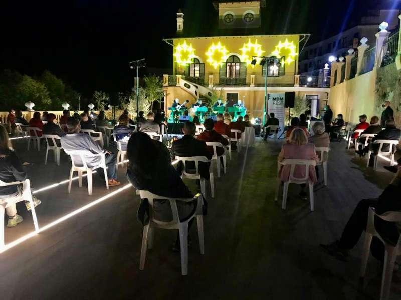El festival en Villa Purificación