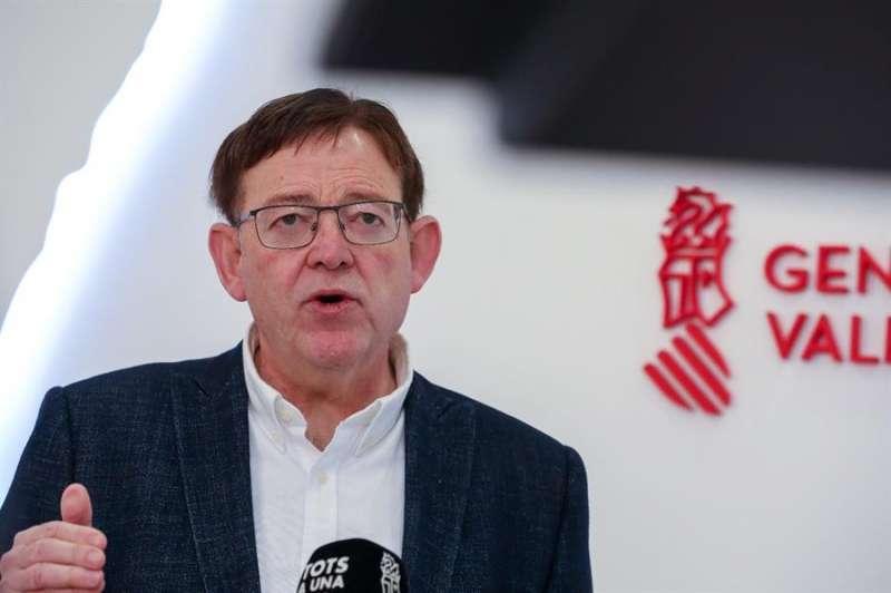El president de la Generalitat, Ximo Puig. EFE/Generalitat