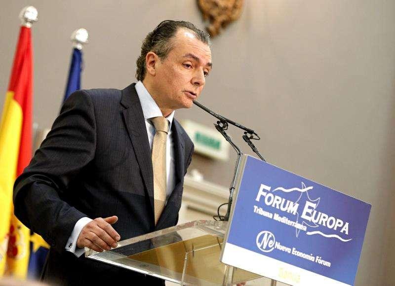 El presidente de la Confederación Empresarial Valenciana (CEV), Salvador Navarro. EFE/Archivo